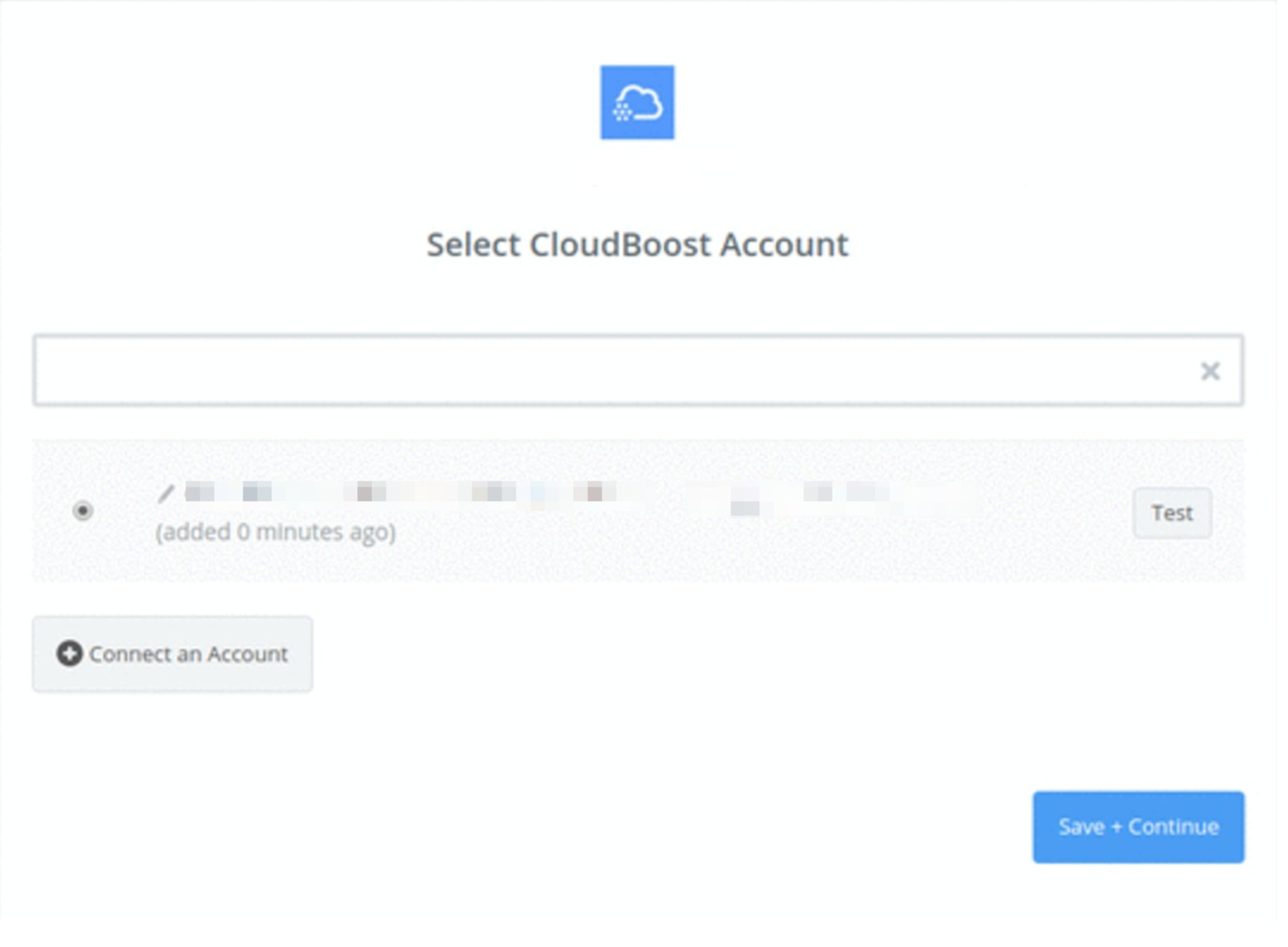 CloudBoost connection successfull