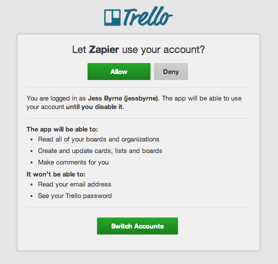 Automatically create Trello cards from new Evernote Notes