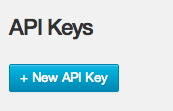 Mandrill create API Key