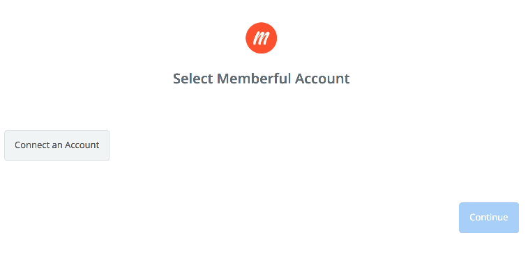 Click to connect Memberful