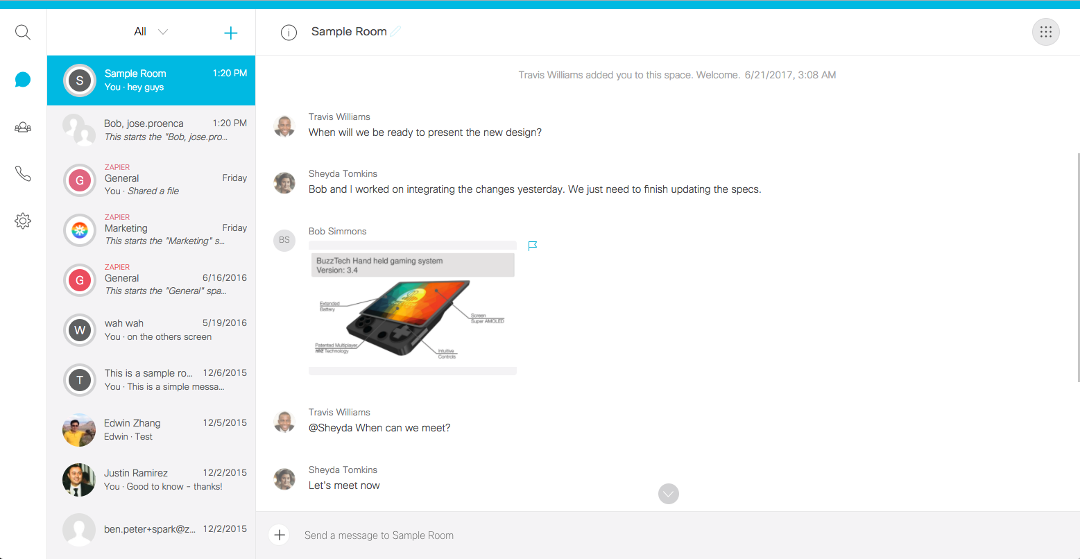 Cisco Webex Teams - Features, Pricing, Alternatives, and More | Zapier