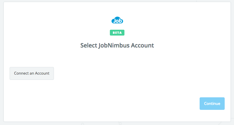 Click to connect JobNimbus
