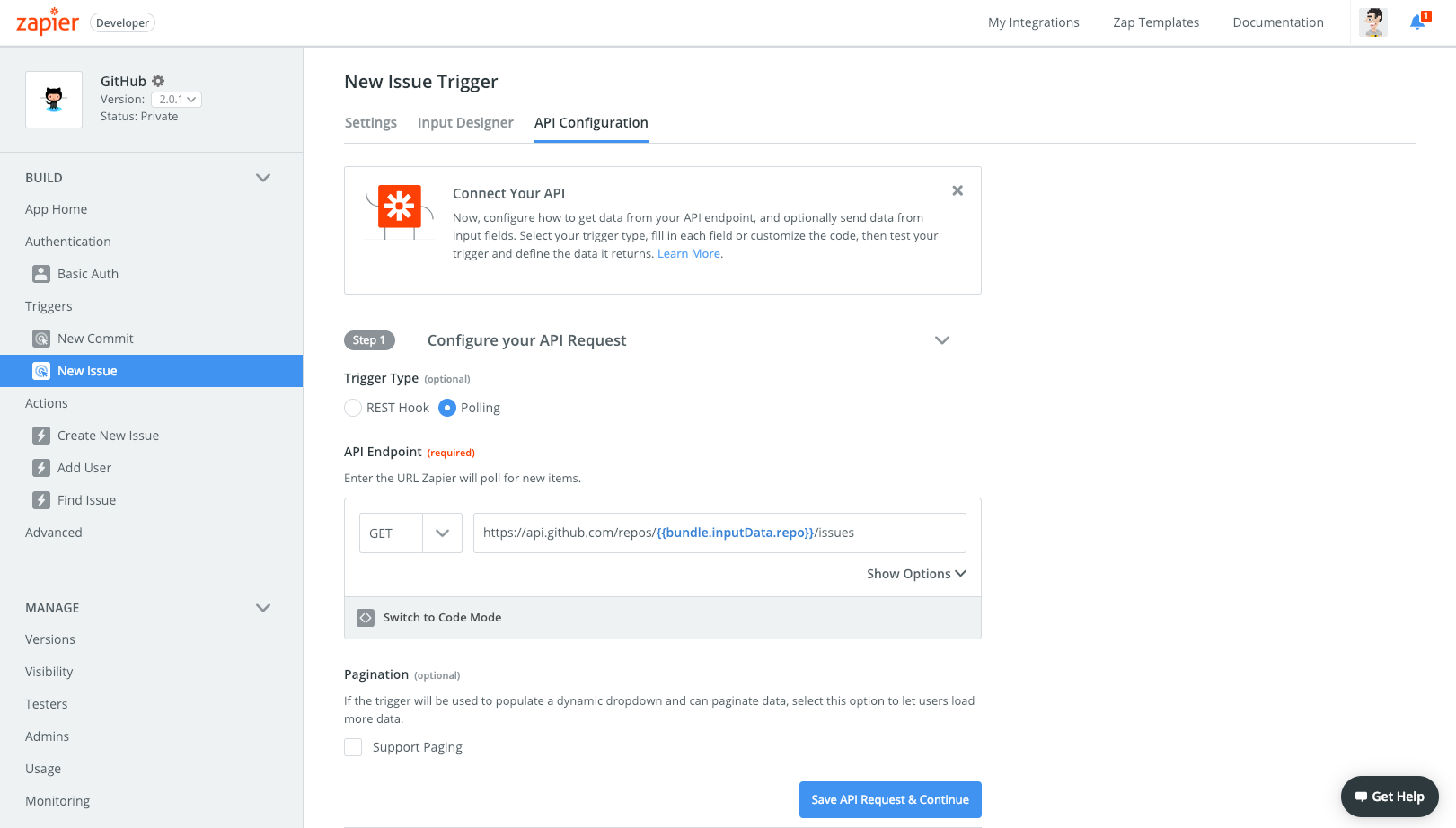 Triggers | Zapier Platform UI Documentation