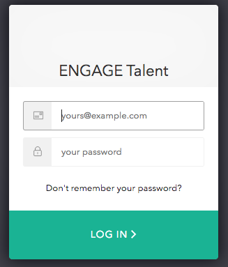 Login to Engage Talent