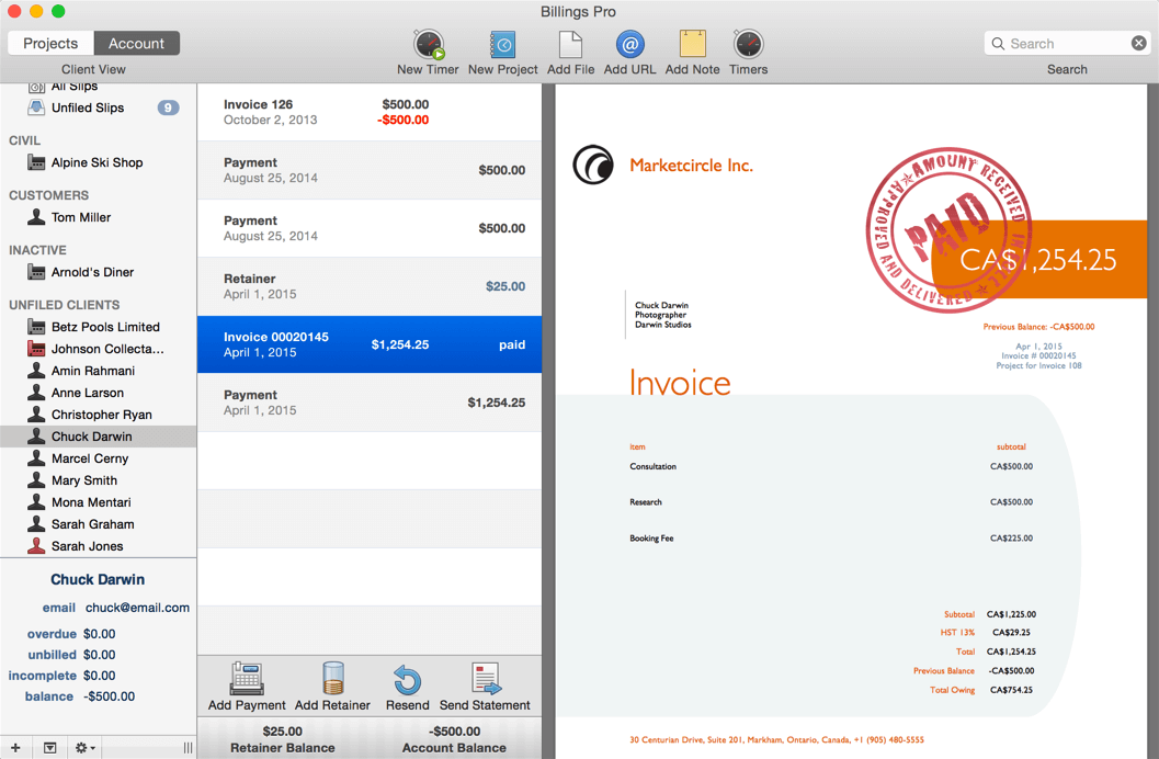 The Best Invoicing Software Apps To Get Paid For Your Work - Free invoice software for mac home store online