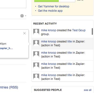 Yammer Activity