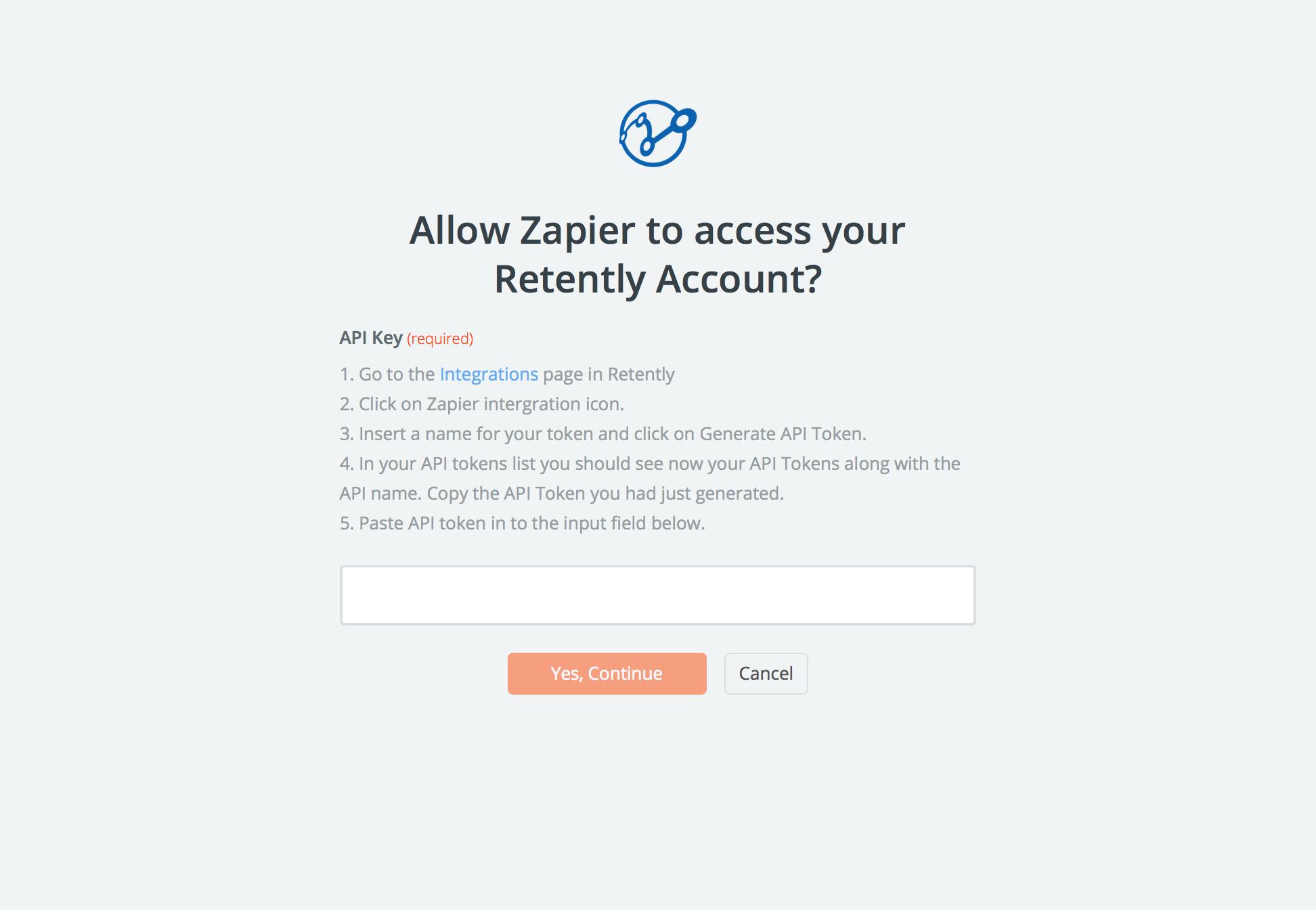 Retently API Key