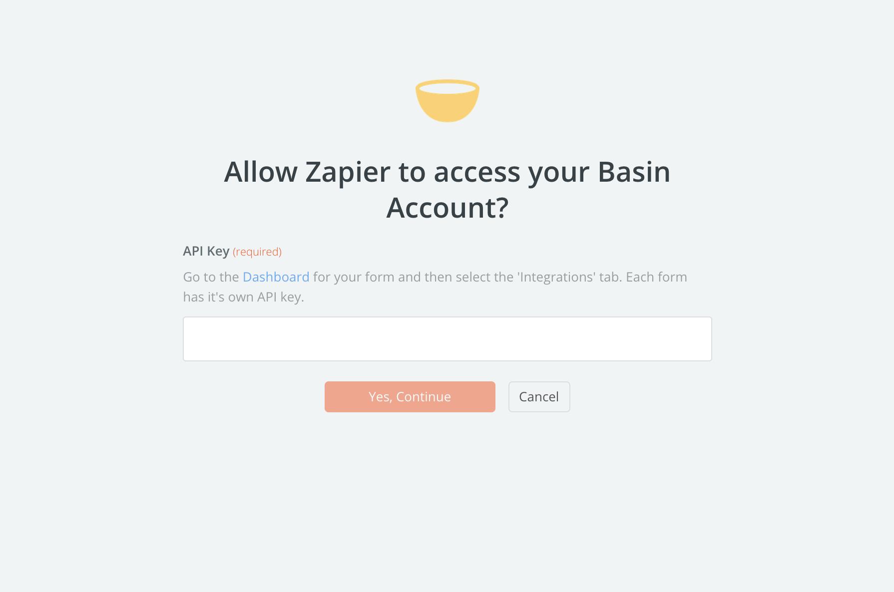 Basin API Key