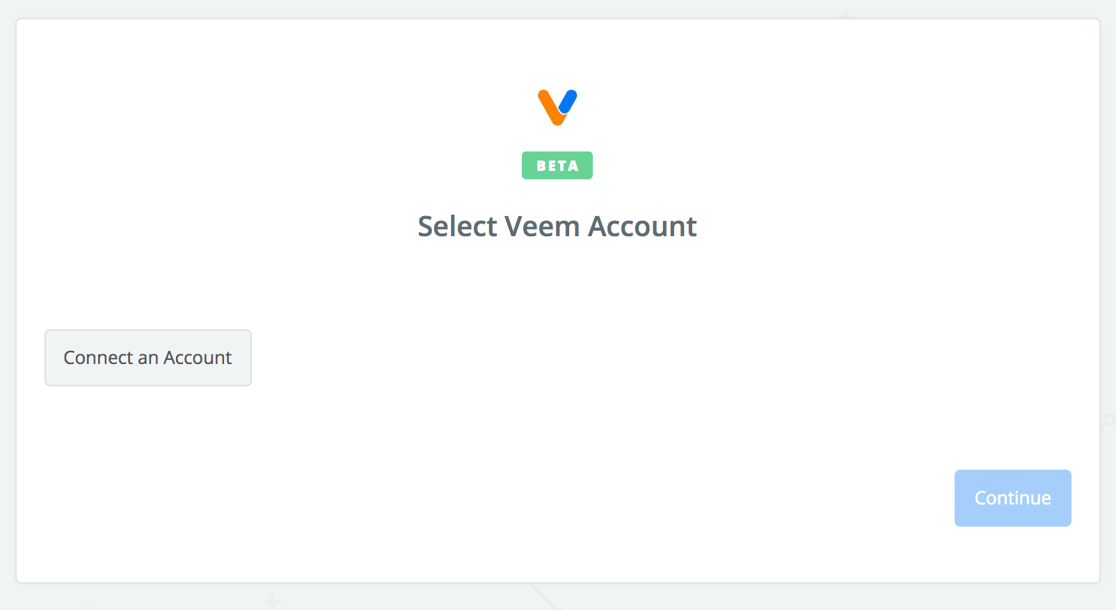 Click to connect Veem