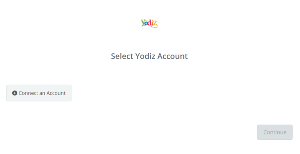 Click to connect Yodiz