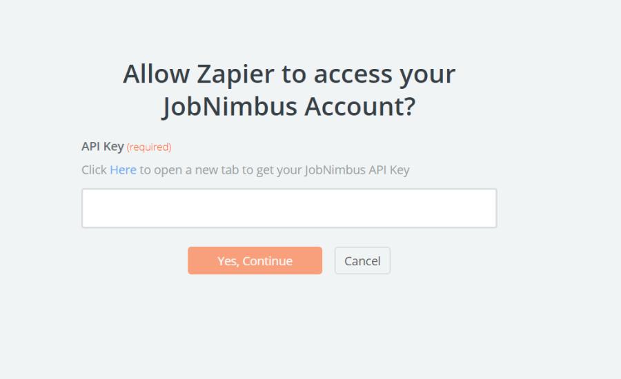 JobNimbus API Key