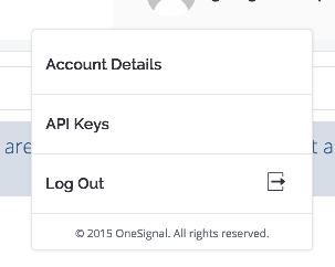API Keys