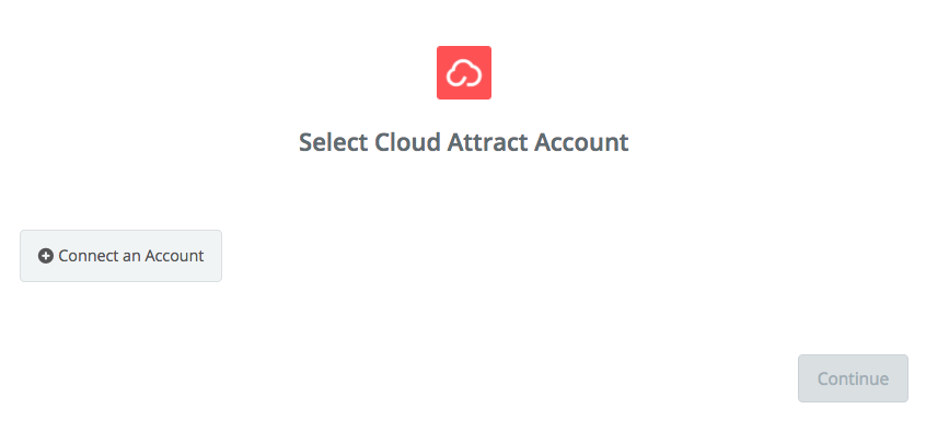 Click to connect Cloud Attract