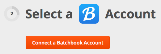 Connect Batchbook to Zapier