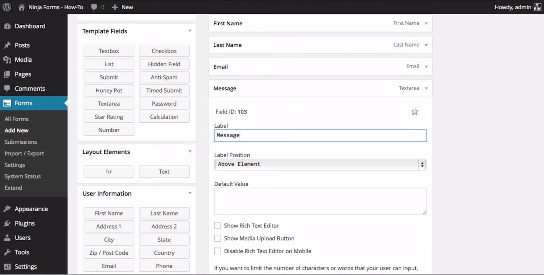 Ninja Forms Screenshot Examples & Demo Videos | Zapier