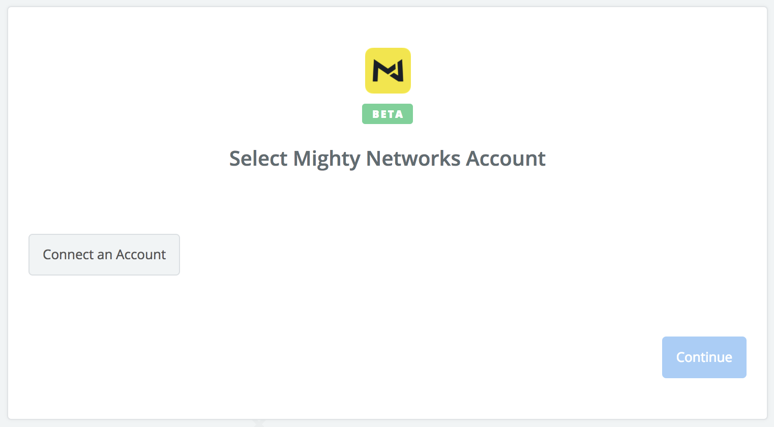 Click to connect Mighty Networks