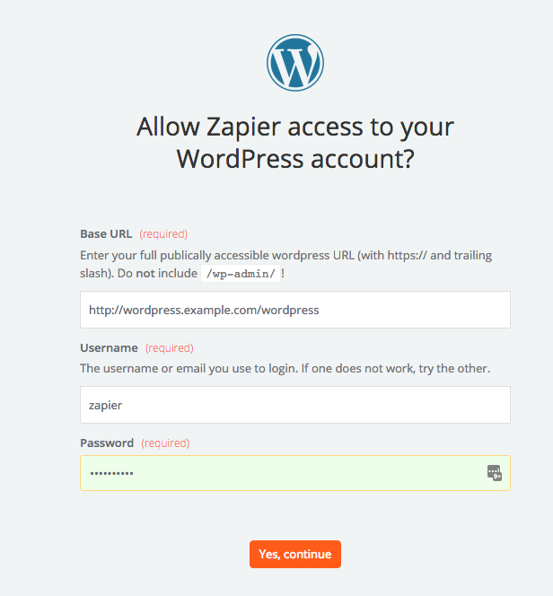 WordPress - Integration Help & Support | Zapier
