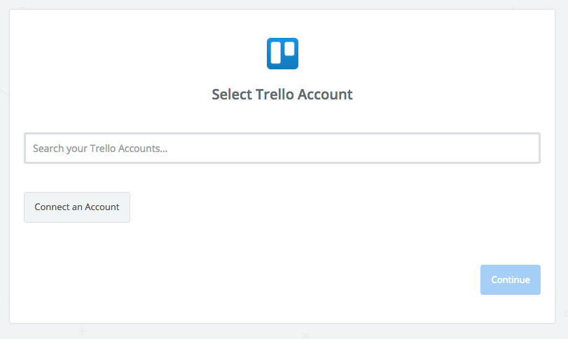 Connect your Trello account to Zapier