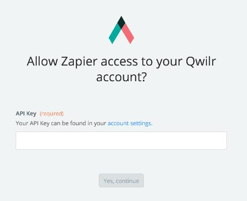 Qwilr API Key