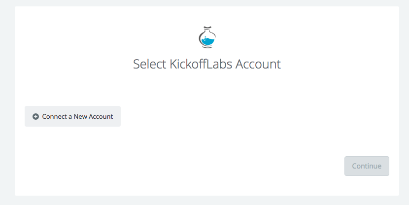 Connect your KickoffLabs account to Zapier