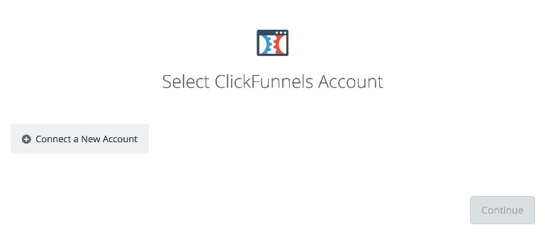 Click to connect ClickFunnels