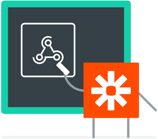 Zapier gets your data where it needs to go