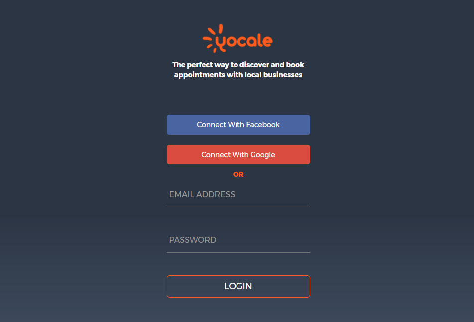 Login to Yocale
