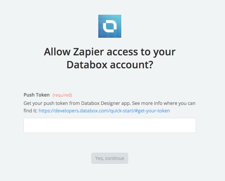 Databox API Key