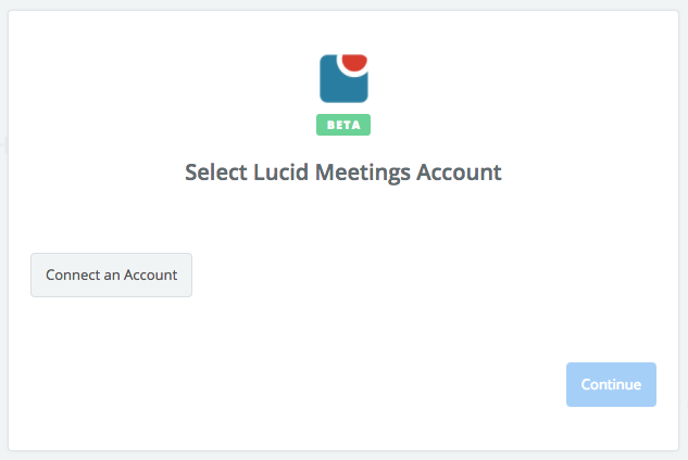 Click to connect Lucid Meetings