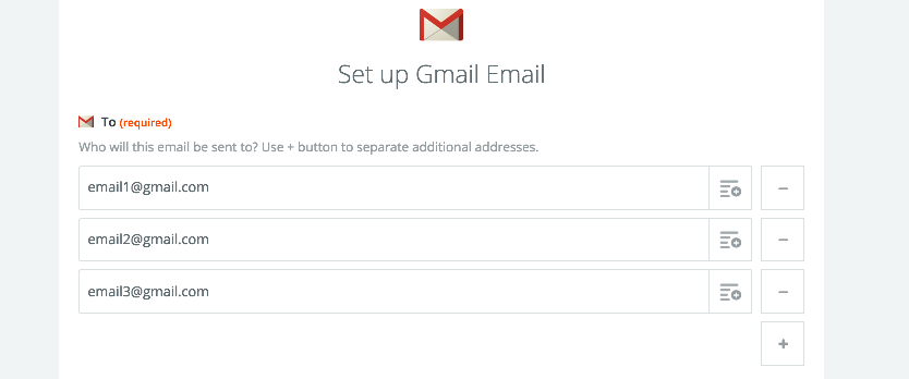 example separated email