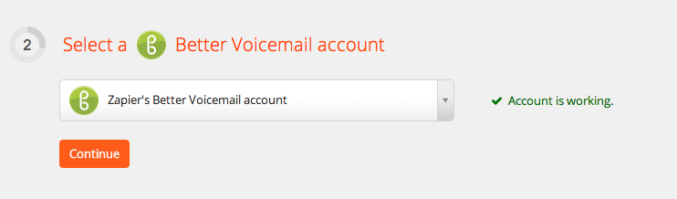 BetterVoicemail Account Test