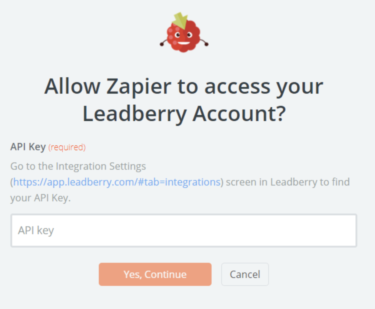 Leadberry API Key