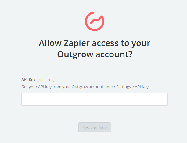 Outgrow API Key
