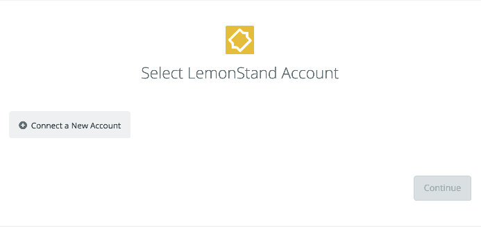Click to connect LemonStand