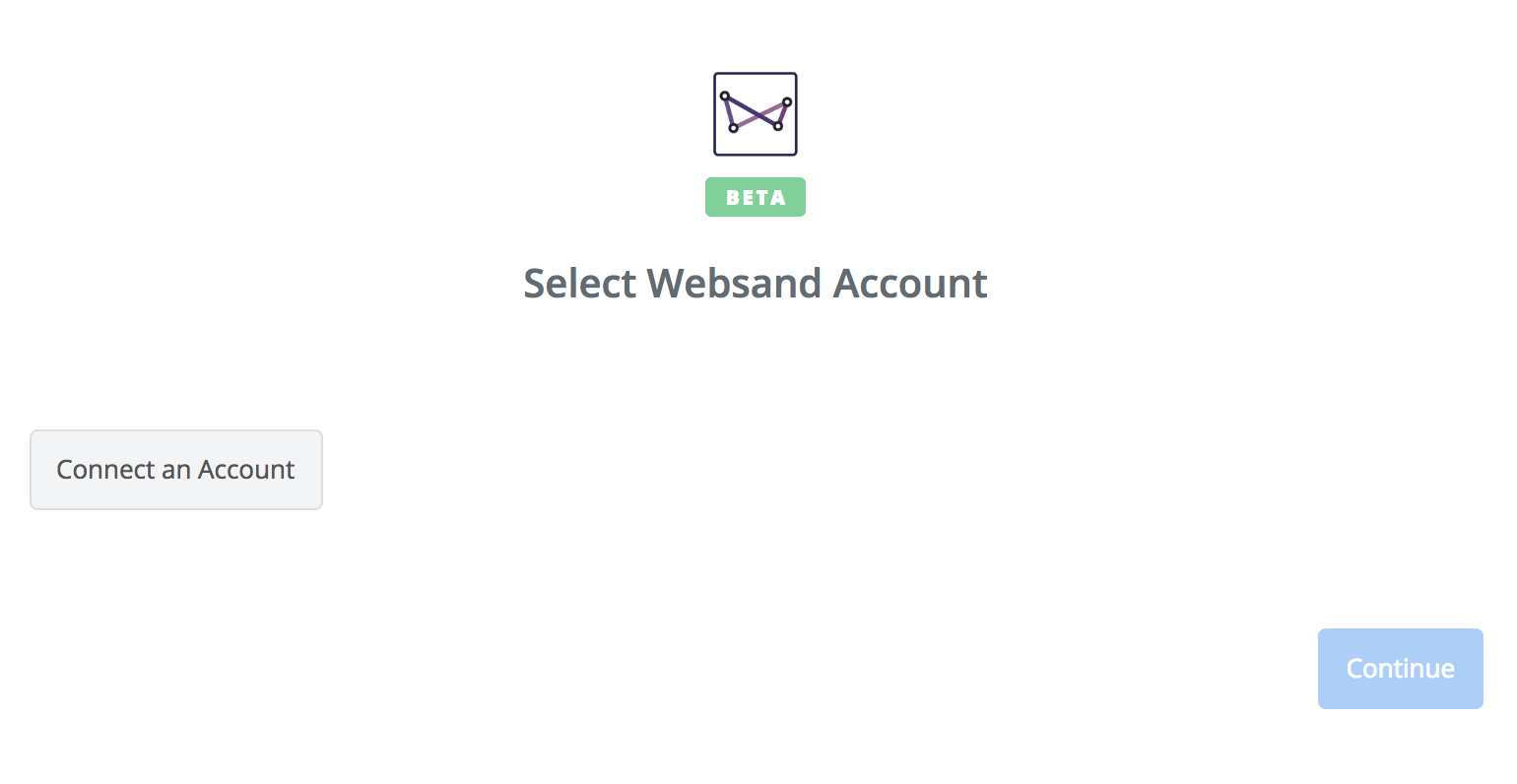 Click to connect Websand