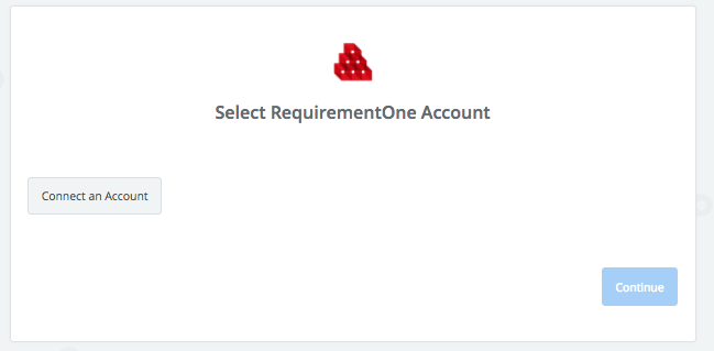 Click to connect RequirementOne