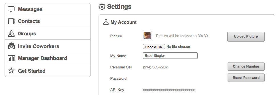 Retrieve your API key