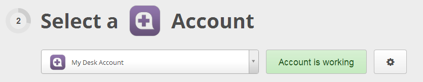 Your Desk account is authorized