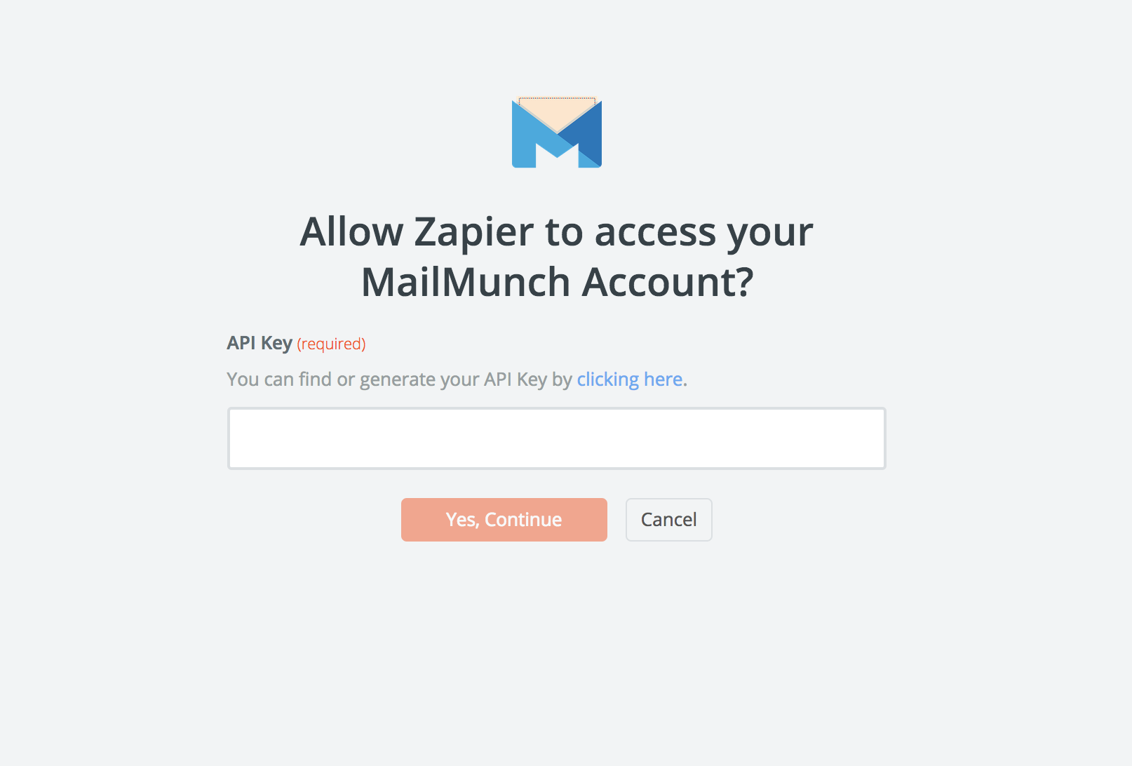 MailMunch API Key