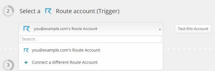 Click to connect Route