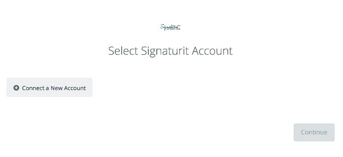 Click to connect Signaturit