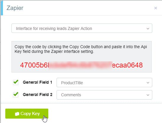 Bmby API Key in account