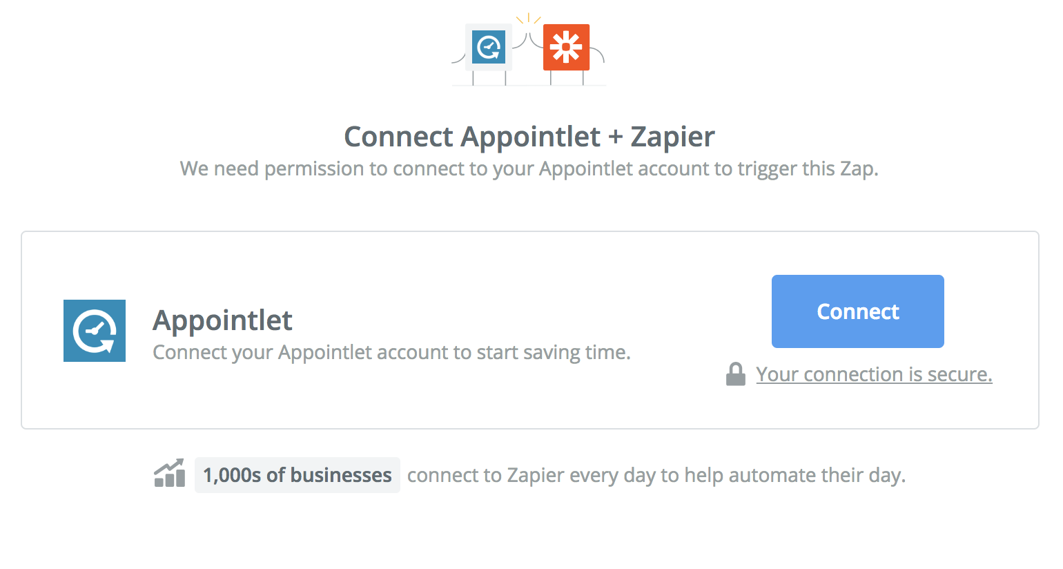 Connect your Appointlet account to Zapier