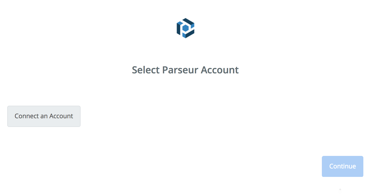 Click to connect Parseur