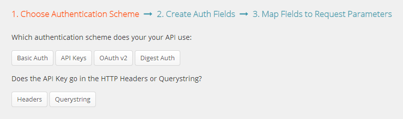 Selecting API Key with Headers