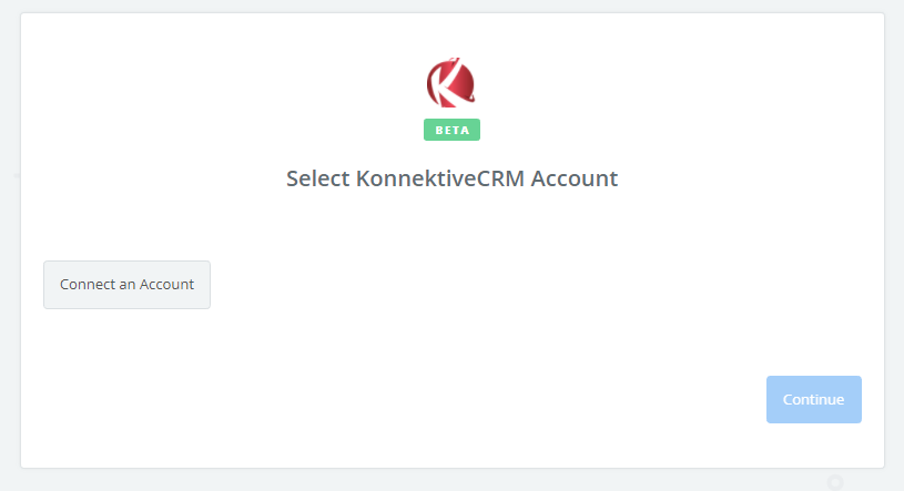 Click to connect KonnektiveCRM