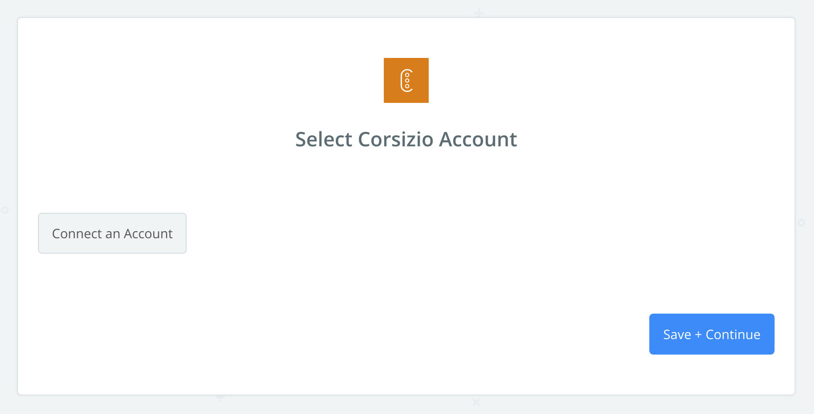 Click to connect Corsizio