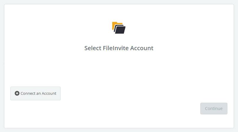 Click to connect FileInvite