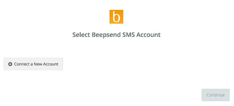 Click to connect Beepsend
