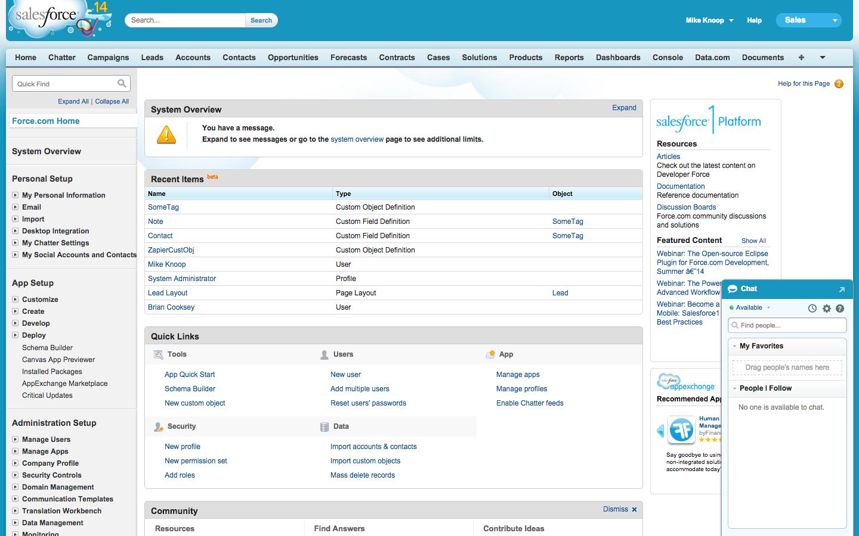 Salesforce Screenshot Examples & Demo Videos | Zapier